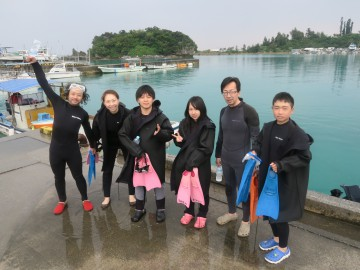 美ら海体験ダイビング6名様