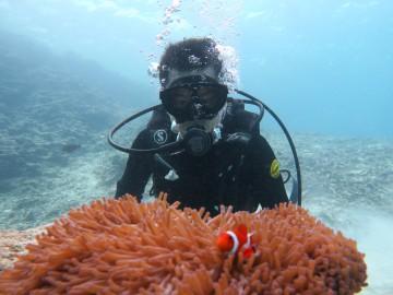 美ら海体験ダイビング1名様