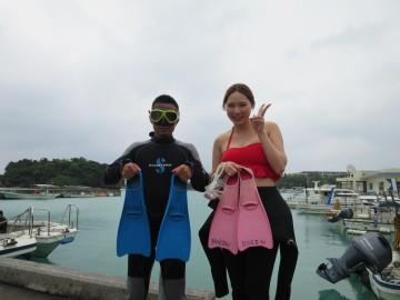 青の洞窟体験ダイビング2名様