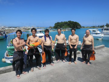 美ら海体験ダイビング×6名様