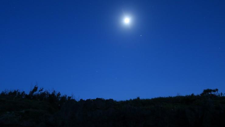 Moon Skyでナイトシュノーケル