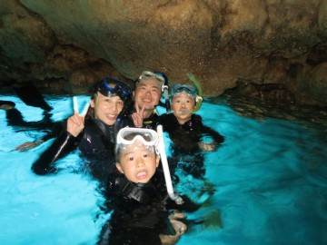 青の洞窟シュノーケル4名様