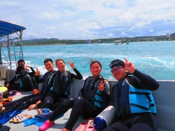青の洞窟シュノーケル&美ら海体験ダイビングSET×4名様