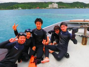 美ら海体験ダイビング×5名様