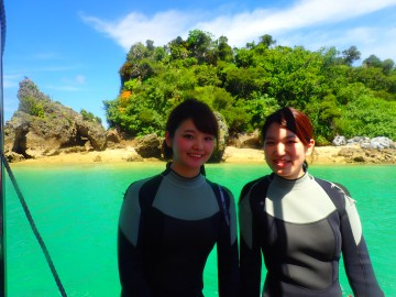青の洞窟体験ダイビング×2名