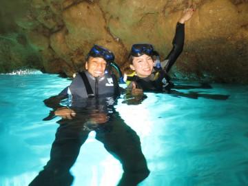 青の洞窟シュノーケル×2名様