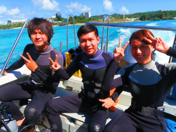 青の洞窟体験ダイビング×3名様