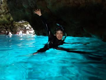 青の洞窟シュノーケル×1名様