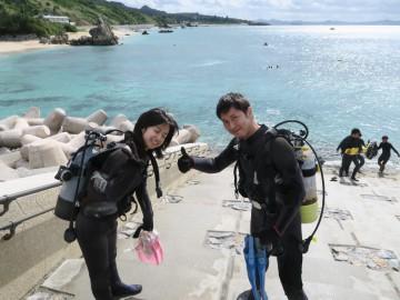 ビーチ体験ダイビング×2名様