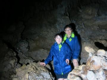 鍾乳洞秘境パワースポットの探検×2名様