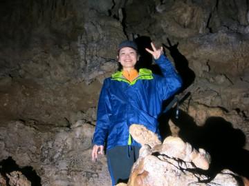 鍾乳洞秘境パワースポットの探検×1名様