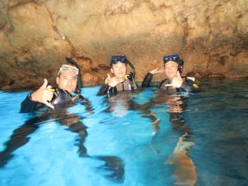 青の洞窟体験ダイビング×7名様