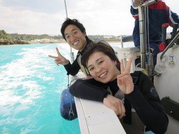 ボートシュノーケル&体験ダイビングSET×2名様