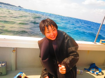 ボート体験ダイビング×1名様