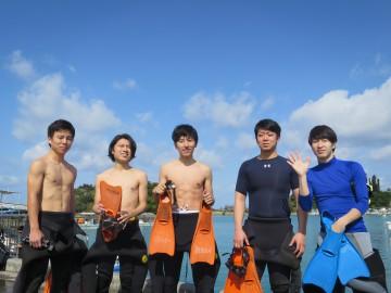 ボート体験ダイビング×5名様