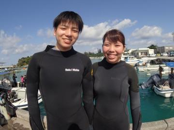 ボート体験ダイビング×2名様