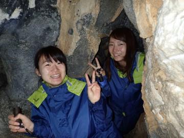 鍾乳洞秘境パワースポット探検×2名様