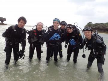 ビーチ体験ダイビング×6名様