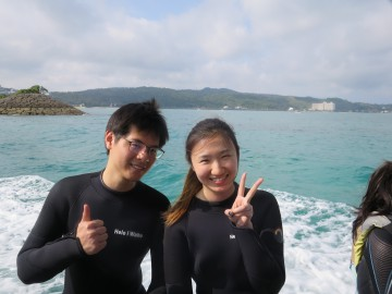 青の洞窟体験ダイビング×2