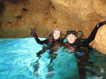 青の洞窟体験ダイビング×2名様