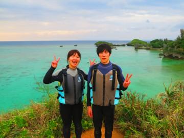青の洞窟体験ダイビング&サンセットSUPクルージング×2名様