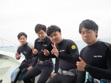 ボート体験ダイビング×4名様