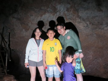 鍾乳洞秘境パワースポット探検×4名様