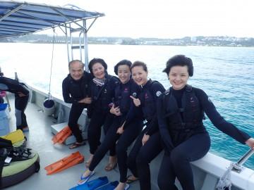 青の洞窟シュノーケル&美ら海体験ダイビングSET×5名様