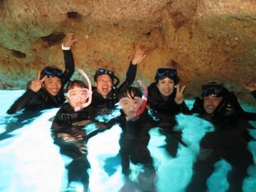 青の洞窟シュノーケル×6名様