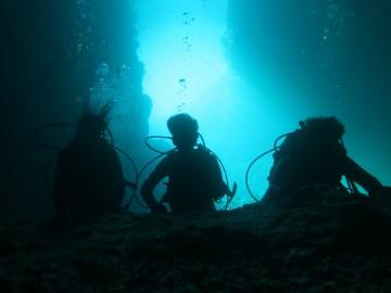 早朝青の洞窟体験ダイビング×3名様