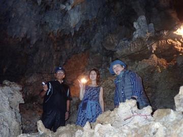 鍾乳洞・秘境パワースポットの探検×3名様