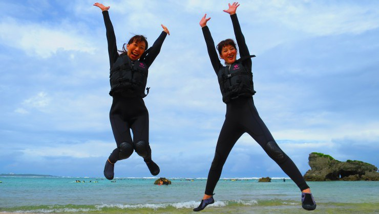 沖縄!全力で楽しんでます!