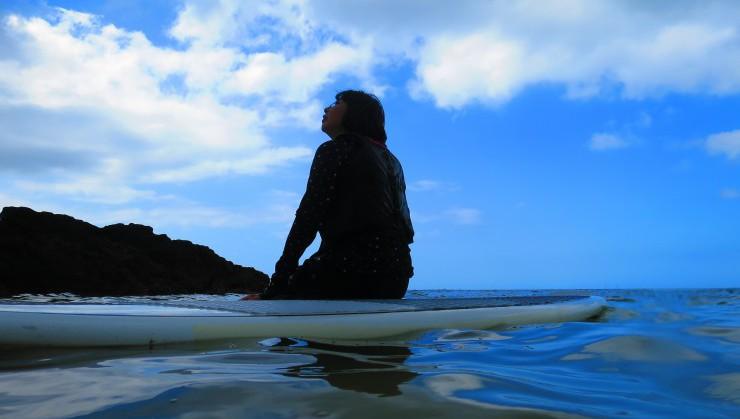 夏と海とSUP