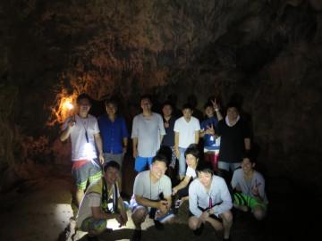 鍾乳洞秘境パワースポットの探検×12名様