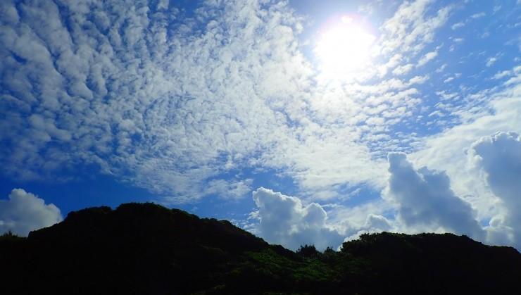 (あーいい天気。)