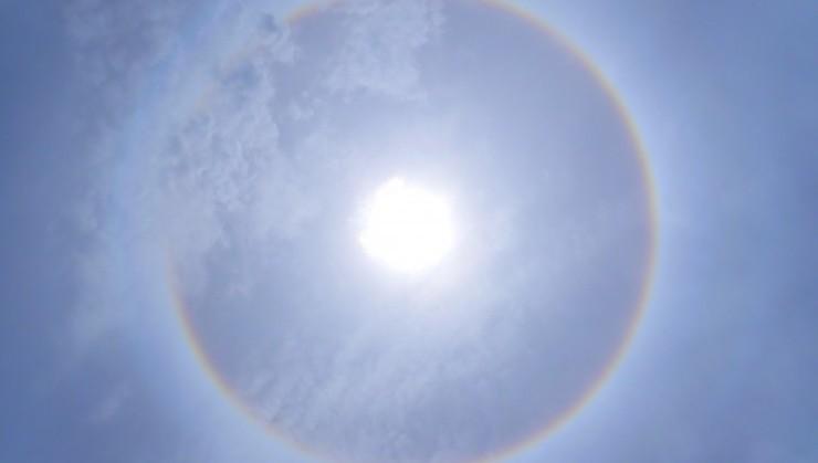 (虹の円)